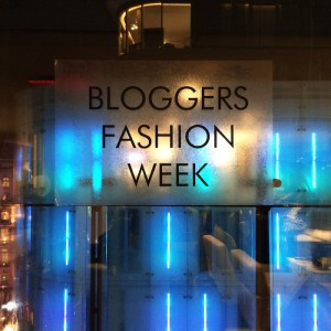 Bloggers Fashion Week