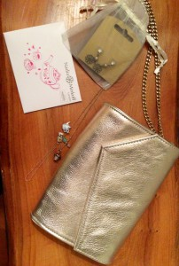 Nadia Minkoff bag and jewellery