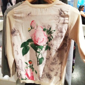 IWYC rose sweater