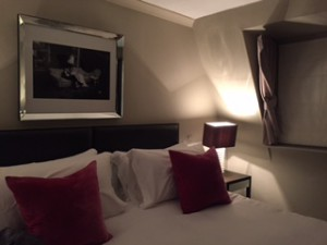 A stylish room at The Bingham
