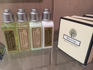 Miller Harris toiletries at The Bingham