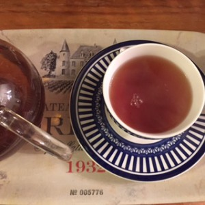 An elegant cup of Earl Grey