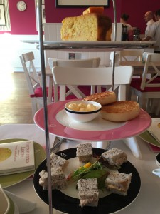 Gluten free afternoon tea at Beatons