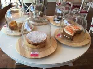 Delicious cakes at Beatons Crowthorne