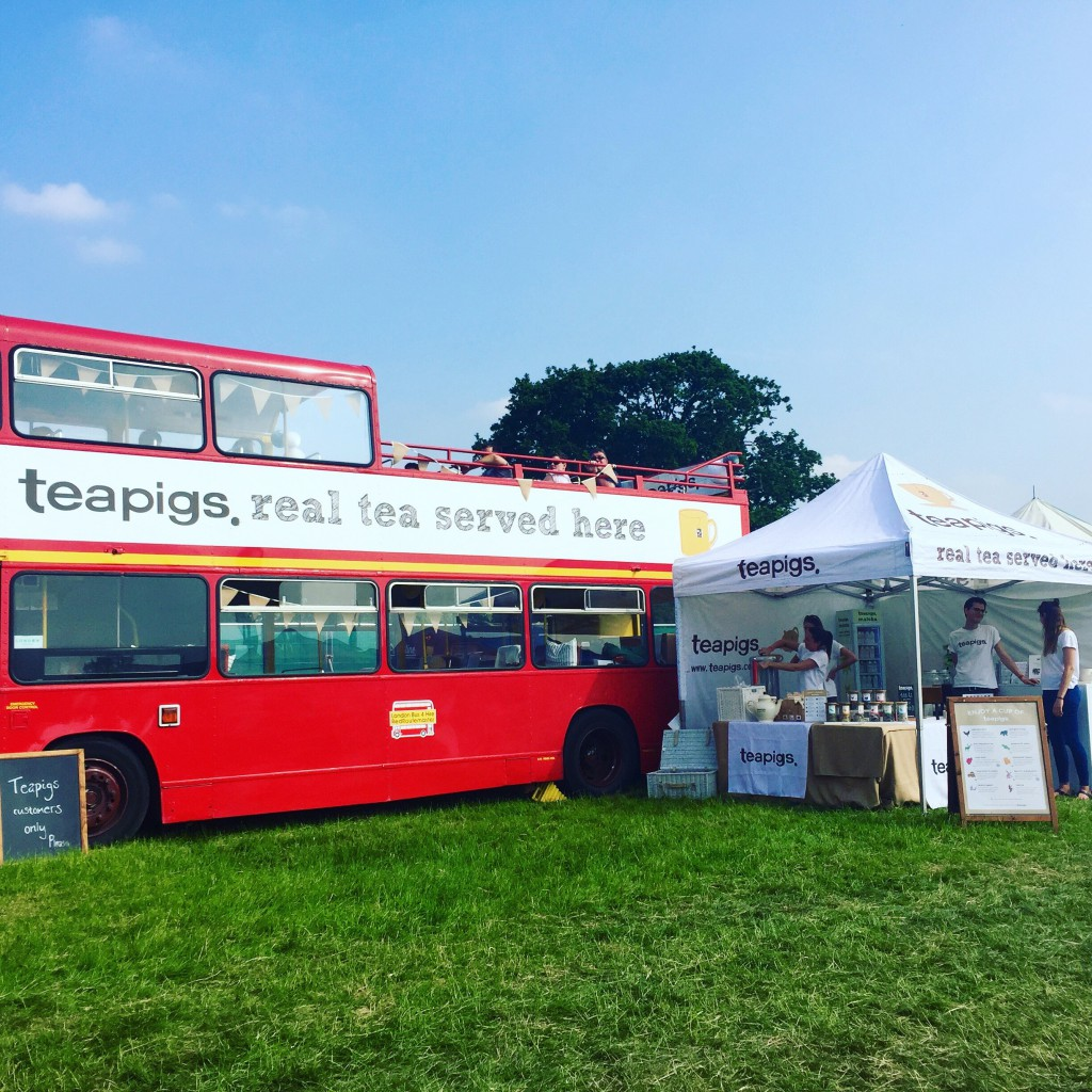The Teapigs Bus at Foodies Festival Syon Park
