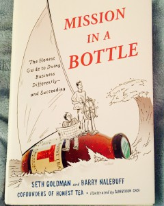 Seth Goldman's book, Mission in a Bottle