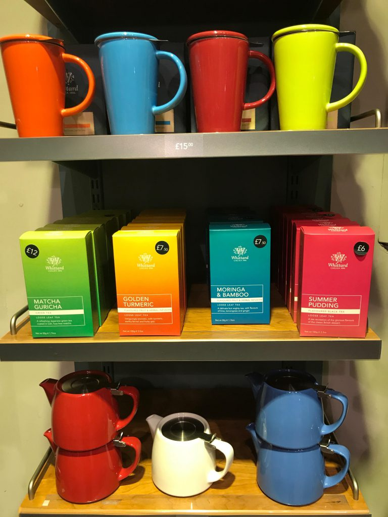 Colourful teas and tea ware - including the Moringa Bamboo