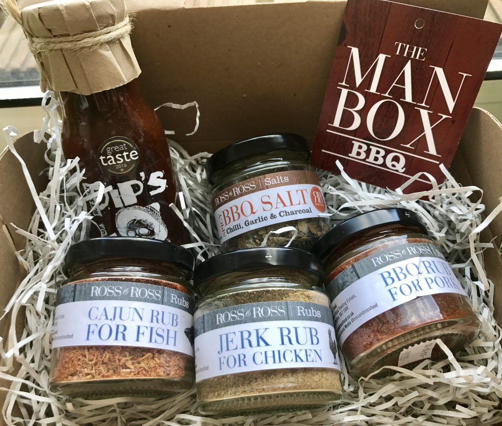 Man Box from Ross and Ross Food