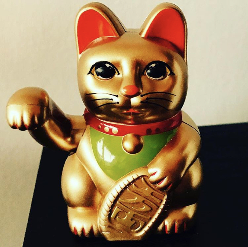 Chinese Lucky Cat for Chinese New Year